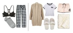 """""""Goodnight 435"""" by battlebreaker ❤ liked on Polyvore featuring J.Crew, River Island, Wet Seal, Natori, Nordstrom and Victoria's Secret"""
