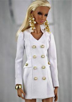 Barbie Gowns, Doll Clothes Barbie, Barbie Dress, Barbie Fashion Royalty, Fashion Dolls, Manequin, Barbie Life, Barbie Patterns, Barbie Collection