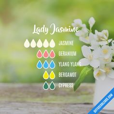 Lady Jasmine — Essential Oil Diffuser Blend
