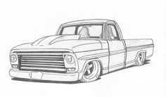 Drawing of truck truck art car drawings weird cars cars coloring pages motorcycle art 17 easy Truck Coloring Pages, Coloring Books, Coloring Sheets, Cool Car Drawings, Art Drawings, Weird Cars, Cool Cars, Camionnette Chevy C10, Car Drawing Pencil