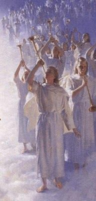 And suddenly there was with the angel a multitude of the heavenly host praising God, and saying,    Glory to God in the highest, and on earth peace, good will toward men.