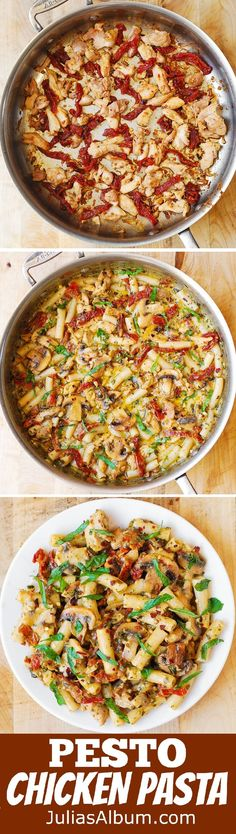 Chicken tomato mushroom pasta recipes