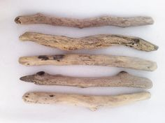 "5pcs, 14""-16"" long & thick driftwood sticks, Sea driftwood pieces, Driftwood Art and creations, Driftwood supplies,natural Driftwood #DW059# by MrsBeachComber on Etsy"