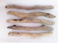 "5pcs, 14""-16"" long & thick driftwood sticks, Sea driftwood pieces, Driftwood Art and creations, Driftwood supplies,natural Driftwood #DW059# by MrsBeachComber on Etsy"