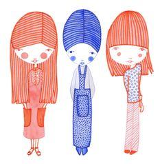 Three Friends by Helena Leslie