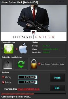 Hitman Sniper Hack was released to the public . Here you can download Hack for Hitman Sniper which will support both Android and iOS version of Hitman Sniper