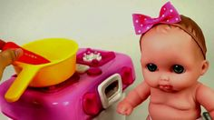 Baby Doll Cooking Food Microwave and Stove Baby Cooking Toys Baby Cookin...