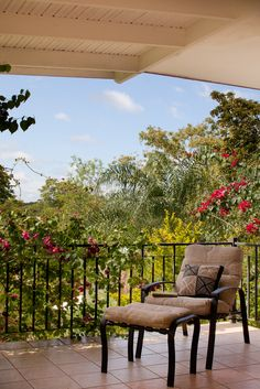 Ka'ana Belize Resort, view over the gardens from the Balam Suite. #xoBelize