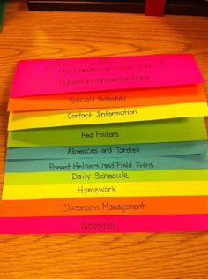 A foldable Parent Information Pack for Curriculum Night or Open House.  All the information parents will need right at their fingertips.