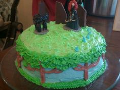 Disney Brave cake I made for Kaylas b-day