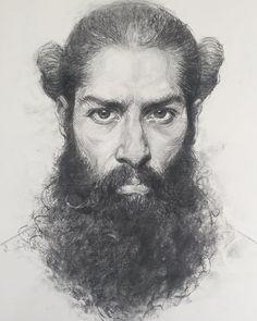#vine #charcoal #expressive #art #drawing #drawings #bearded #beardedmen #artofvisuals #artist #artoftheday #fullbeard