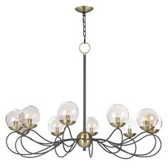 Causeway 10-Light Candle-Style Chandelier