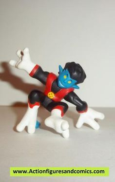 Marvel Super Hero Squad RARE 1st Release NIGHTCRAWLER from Wave 4