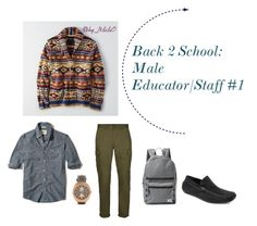 """""""Back 2 School: Guys #1"""" by nconukogu on Polyvore featuring Hollister Co., American Eagle Outfitters, Topman, Joseph Abboud, Herschel Supply Co., men's fashion, menswear, BackToSchool, MensFashion and byndidio"""