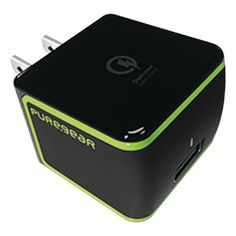 Pure Gear 2.4-amp Qualcomm Quickcharge Usb 2.0 Wall Charger