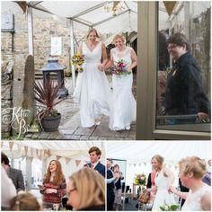 High House Farm Brewery Wedding Healey Barn Katie Byram Photography Two Bride