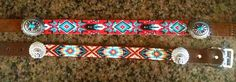 Custom Hand Beaded Dog / Cat Collars - Pet - Native - Tribal - Western  These are custom order so you help design the pattern and the colors and