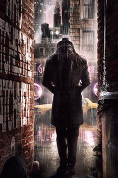 Rorschach Watchmen 5 Android Wallpaper HD