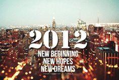 New beginnings... New hope... New dreams