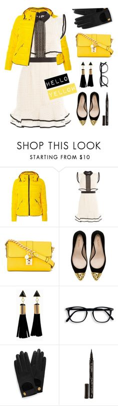"""""""Hello Yellow"""" by vazsu ❤ liked on Polyvore featuring Dorothy Perkins, self-portrait, Dolce&Gabbana, Zara, Mulberry and Smith & Cult"""