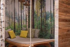 Kuschelliege im m² Wald-Wellness Outdoor Furniture, Outdoor Decor, Home Decor, Gap Year, Recovery, Woodland Forest, Bathing, Vacation, Room Decor