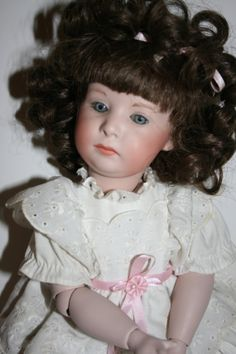 Doll German Porcelain Reproduction by banelsonart on Etsy, $145.00