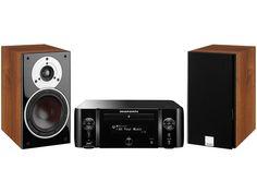 MCR611-BLACK-ZENSOR3-WALNUT #marantz #mcr611 #melody #dali #zensor #speaker #głośnik #wieża #minisystem #stereo