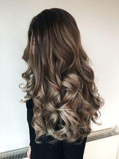 Ash balayage hair by Tanja Studulski.