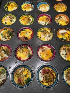 Did you know quail eggs have 3 to 4 times the nutritional value of chicken eggs? And they make a great, grain and dairy free mini quiche for mornings on the go. No quail eggs in your neighborhood, substitute chicken eggs and breakfast is served!
