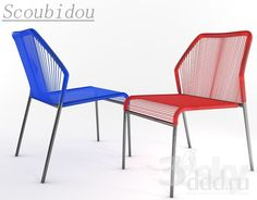 Scoubidou Chair
