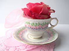 Vintage Royal Stafford Glendale Floral English Bone by jenscloset