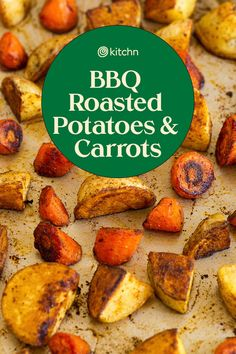Roasted Potatoes and Carrots (Easy One Pan)   Kitchn Roasted Potatoes And Carrots, Homemade Bbq, Carrot Recipes, Spice Mixes, Beverages, Spices, Spice Blends, Spice, Recipes For Carrots