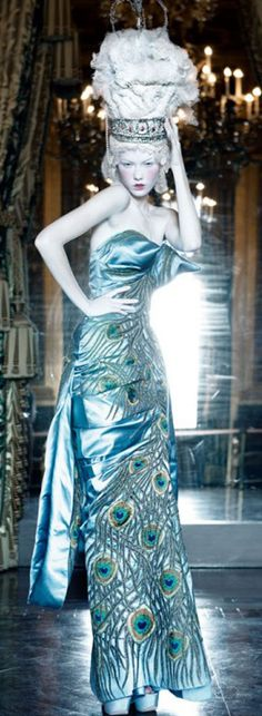 Dior Peacock Fall 2004