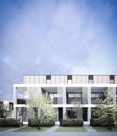 Melbourne Townhouse Concepts / Conrad Architects