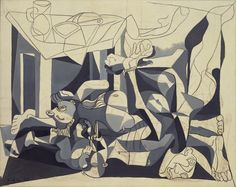 Pablo Picasso, The Charnel House on ArtStack #pablo-picasso #art