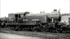 BR (LNER) L1 class  2-6-4 T Diesel Locomotive, Steam Locomotive, Steam Trains Uk, Steam Railway, British Rail, Steam Engine, Paddle, Vintage Trains, Steamers