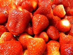 marmellata di fragole #ricettedisardegna #sardegna #sardinia #food #recipe American Breakfast, Strawberry, Preserves, Biscotti, Cooking, Spreads, Food, Italia, Canning