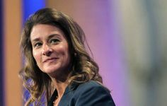 "Melinda Gates - ""Women and girls should be able to determine their own future, no matter where they're born.""   Mario Tama/Getty Images"