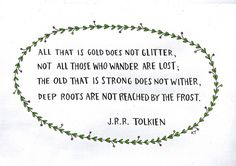 Quote ~ Tolkien ~ via {theuncommonplace} on Flickr