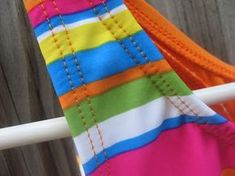 Creative Chicks: Swimsuit Sewing Updated Tips  The one thing I have not been able to sew      Maybe now