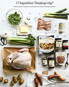 How to Host a 17-Ingredient Thanksgiving Dinner @williamssonoma