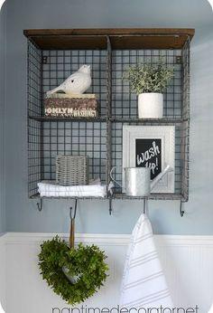 budget powder room makeover, bathroom ideas, small bathroom ideas, wall decor