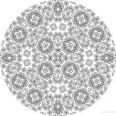 coloriage mandala imprimer pour adulte mandala coloriage adulte via dessin2mandalacom