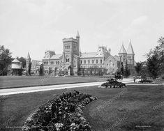 Toronto University 1901 Vintage 8x10 Reprint Of Old Photo