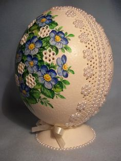 Hungarian egg decor