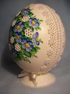 Hungarian egg decor