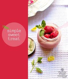 Homemade Raspberry Applesauce | FamilyFreshCooking.com | © MarlaMeridith.com