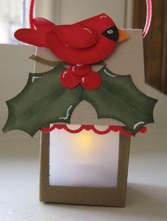 Smiles, Laura: Cardinal lantern....