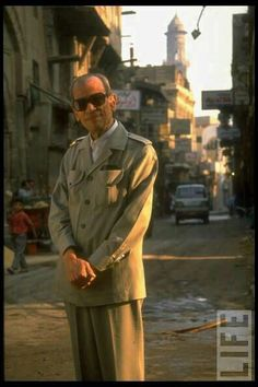 A very beautiful photo of Naguib Mahfouz