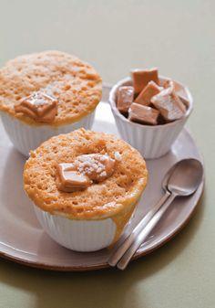 Caramel-Fleur de Sel Mug Cake Recipe